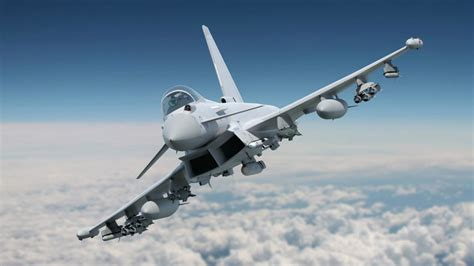 eurofighter typhoon with full phase 3 enhancement weapons