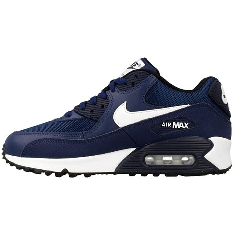 Nike Air Max T90 3 nike air max 90 mesh gs 724824 401 white blue en distance eu