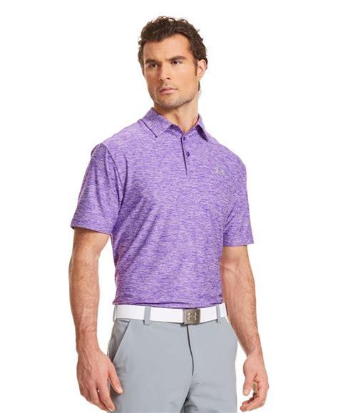 armour mens coldblack player golf polo shirts