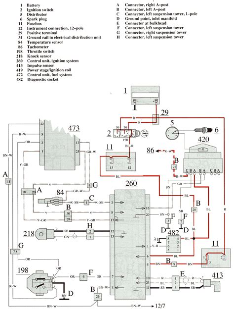 volvo 740 wiring diagram volvo 740 1989 wiring diagrams