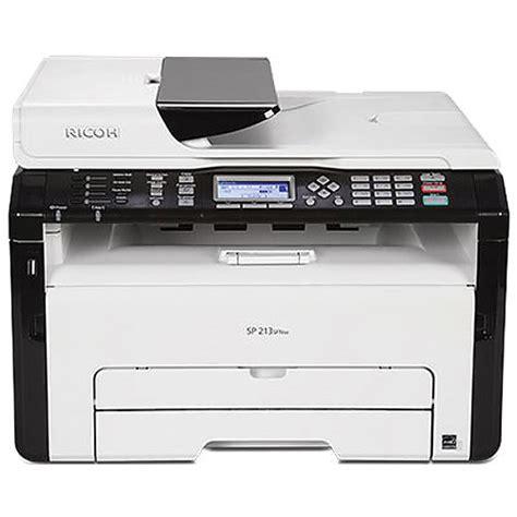 Printer Laser Ricoh ricoh sp 213sfnw all in one monochrome laser printer