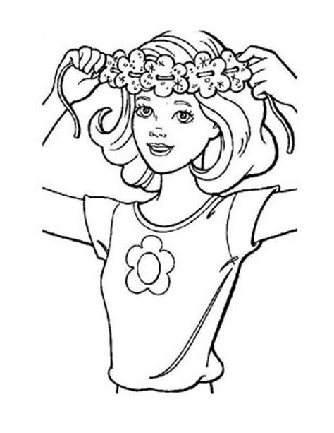 hair coloring pages az coloring pages