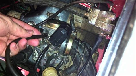 scooter wont start cleaned carb  hoses youtube