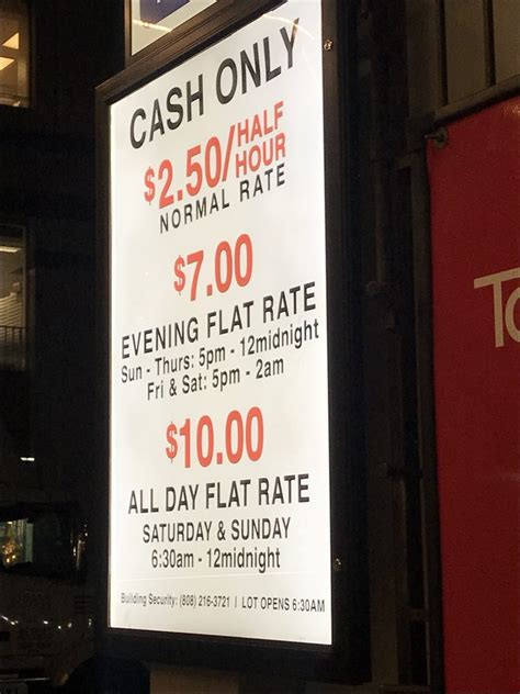 Waikiki Parking Garage by Prices And Hours Yelp