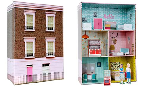 kids craft doll houses cardboard london dollhouse babyccino kids daily tips children s products craft
