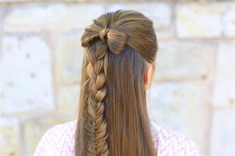 hairstyles for school bow 15 cute girl hairstyles from ordinary to awesome make