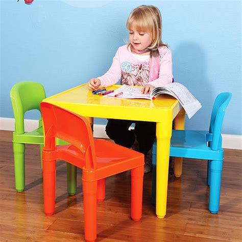 4 tikes table and chair set tikes tender