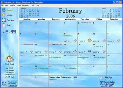 Calendar For Desktop Calendarpal Desktop Calendar Free For Windows 10