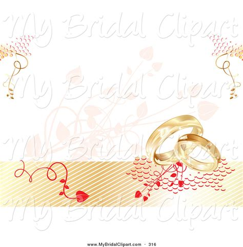 Wedding Background Clipart by Bridal Clipart Of A Wedding Background With Vines And Two
