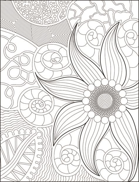 anti stress coloring pages pdf 1358 best coloring at any age 7 images on
