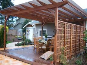 Lattice Patio Cover Design Colonial Decks And Fences Improving Your Yard S Image