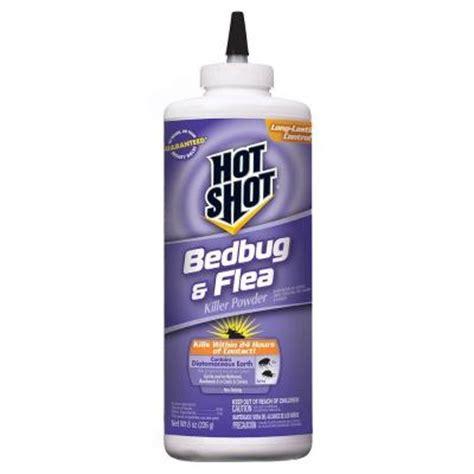 bed bug and flea killer hot shot 8 oz bed bug and flea killer powder hg 96084