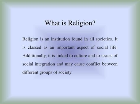 what is religion ppt what is religion powerpoint presentation id 3030755