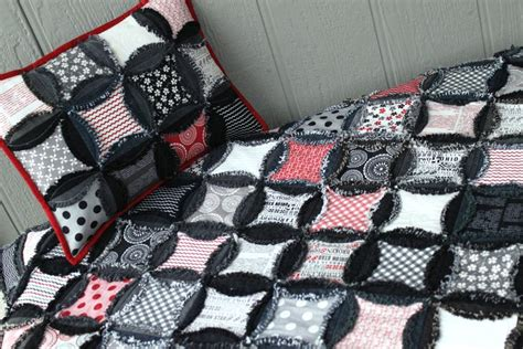 Quilted Bedding by 7 Dazzling Denim Quilt Patterns