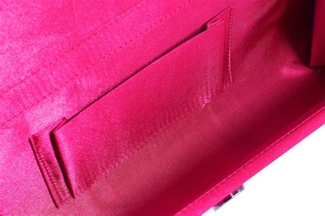 Clutch Satin Pink wholesale pink ruched satin clutch with flower