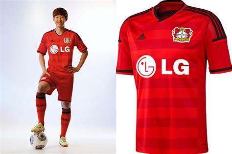 Jersey Go Bayern Leverkusen Home bayer leverkusen unveil 2014 15 home jersey soccer365