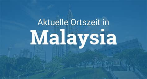 uhrzeit malaysia