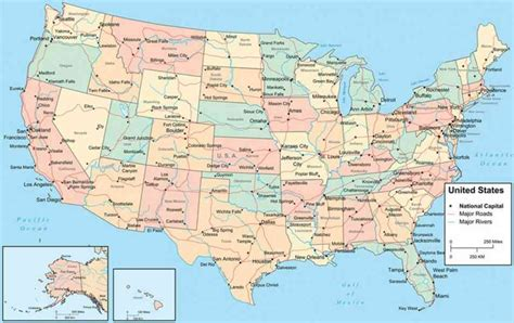 www map of united states map of the states and cities map travel