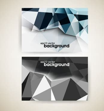 triangle shaped business card template shape business card free vector 29 829