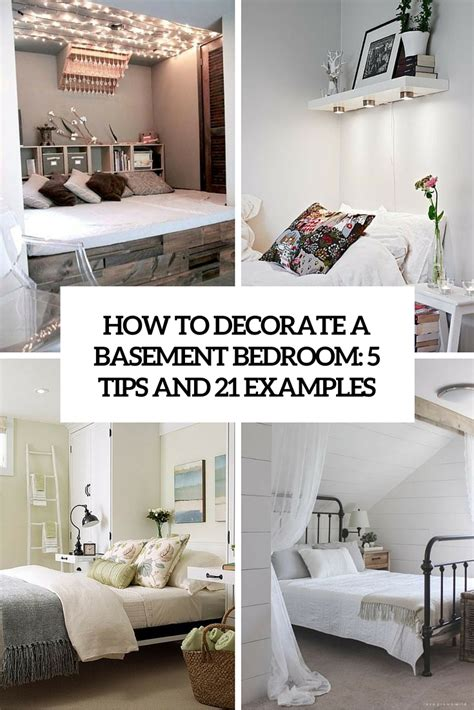 decorating a basement bedroom how to decorate a basement bedroom 5 ideas and 21 exles digsdigs