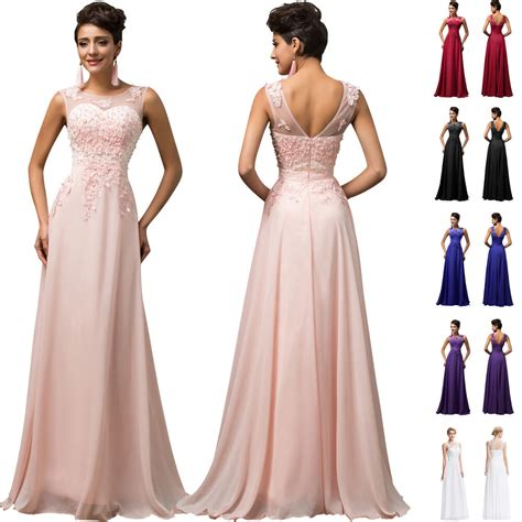 lang spitze abendkleid maxi cocktailkleid ballkleid party