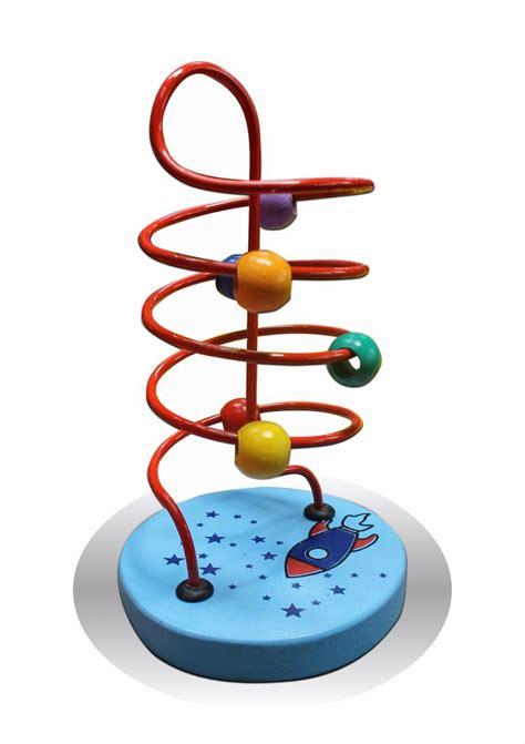 Mainan Edukasi Jam Mobil alur kawat apollo kecil mainan kayu edukasi anak