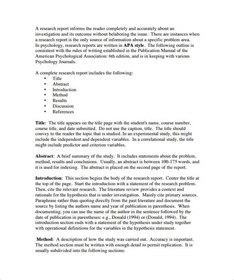 Template For Writing A Literature Review by 6 Literature Review Outline Templates Free Word Pdf