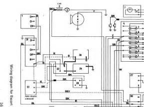 ford granada mk2 wiring diagram granada ford free wiring diagrams