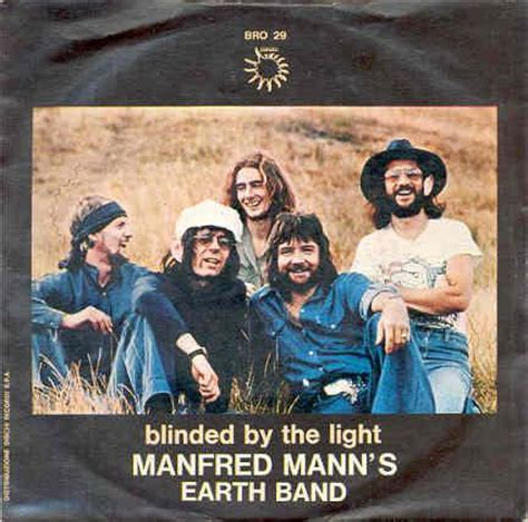 Blinded By The Light Lyrics Manfred Mann 40 year itch 40 year itch revved up like a deuce