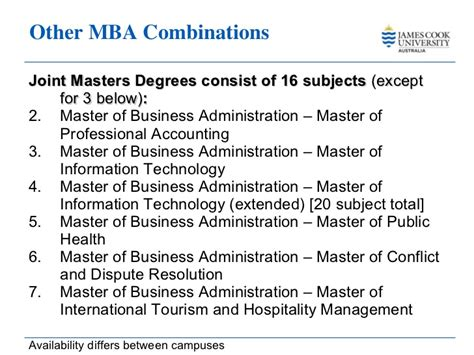 Mba And Cpa Is A Combination by Master Business Administration Cook 2011