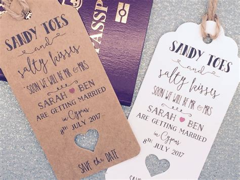 wedding invites after abroad wedding abroad destination wedding save the date