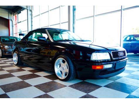 Audi Cabrio Gebraucht Kaufen by Audi Cabriolet 1995 Gebraucht Kaufen Pkw De