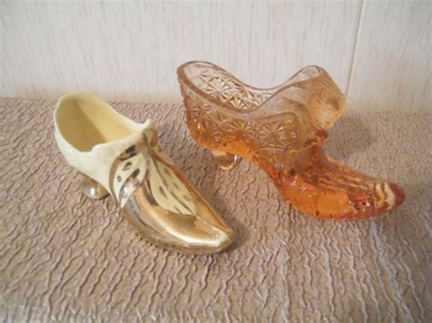 mini glass slippers pin by mitzi eubank on vintage miniature collectable