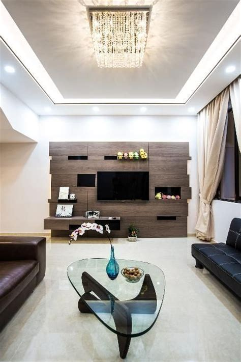White Livingroom by 15 Tv Wall Design Ideas