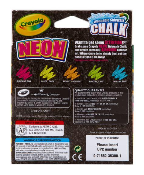 neon chalk board crayola special effects sidewalk chalk neon