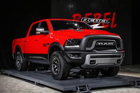 Dodge 2015 Ram 2015 Ram 1500 Rebel Look Motor Trend
