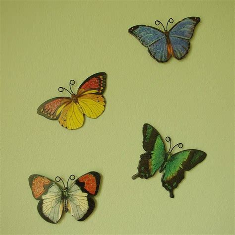 Decorative Butterflies set of bright coloured decorative butterflies by lolly