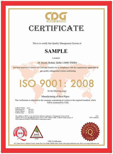 announcement letter for iso certification certificate sles highways maintenance engineer cover