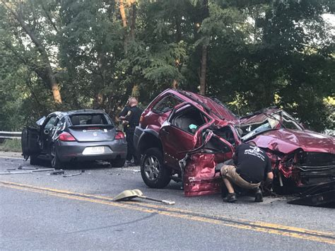 video multiple injuries reported   car accident