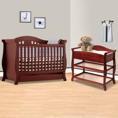 Storkcraft Aspen Crib by Storkcraft Cherry Vittoria 3 In 1 Convertible Crib And