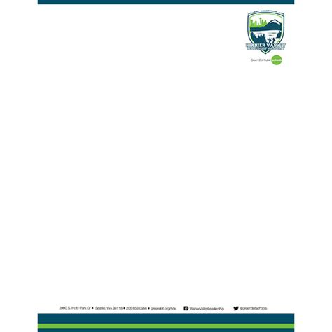 City College Letterhead Rvla Bleed Printed Letterhead Per 1000 Green Dot Ordering