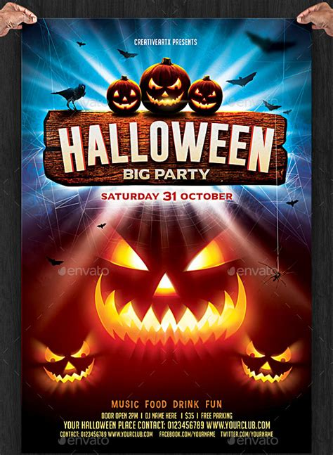 Halloween Flyer Template Psd