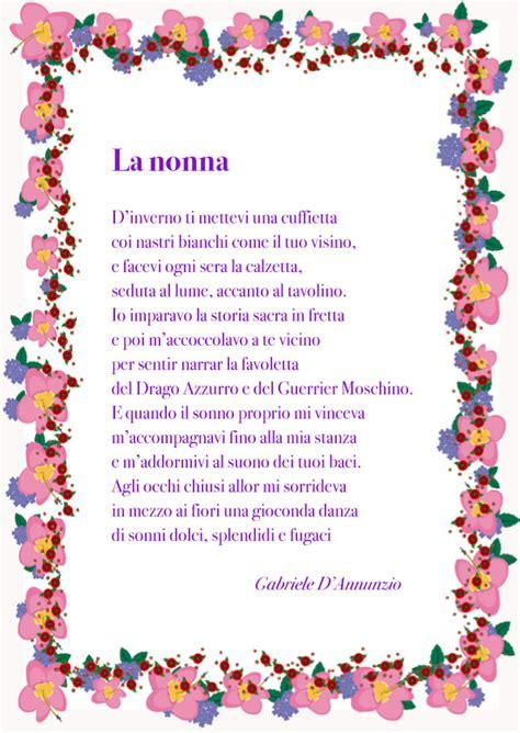 lettere alla nonna poesie per la nonna di buon compleanno vo22 187 regardsdefemmes