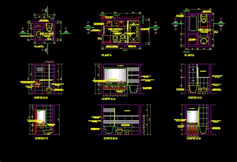 autocad section drawing residential bathroom construction details dwg section for