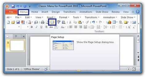 powerpoint layout view how to disable page setup in excel 2007 where is fit to