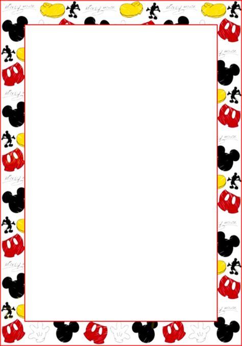 design foto gratis marcos invitaciones tarjetas o etiquetas de mickey mouse