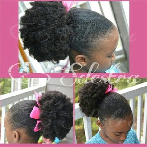 hairstyles for black puffy hair 140 best images about natural kids afros puffs on