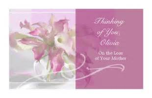 quot loss of mother quot encouragement printable card blue
