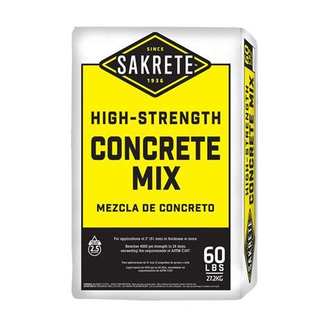 Bag Concrete Home Depot 60ib Bag   The History of Bag