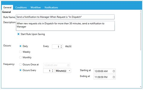 format email wiki sle 4 email notification to manager when a request has